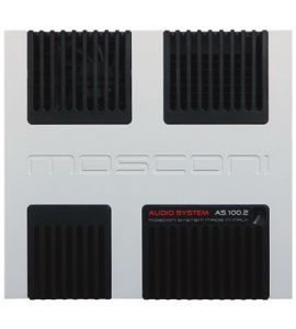 Mosconi Gladen AS 100.2w (AB class) power amplifier (2-channel).