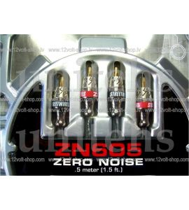 StreetWires ZN605 stereo cable RCA (0.5 m).