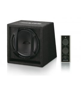 "Alpine SWE-815 active subwoofer 8"" (200 mm)."