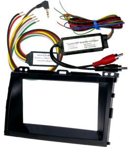 Toyota Prado (LC120) installation kit for aftermarket radio (2DIN).