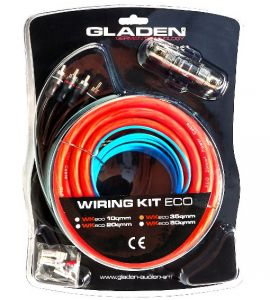 Gladen WK35 (ECO- line) amplifier install KIT (35 mm²).