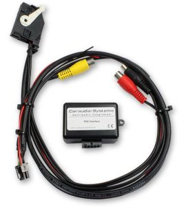 Skoda, VW (RNS510) multimedia interface (AUDIO, VIDEO OUT).