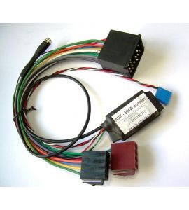 BMW (replaces CD changer) universal adapter AUX with ISO.