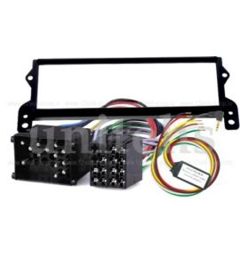 Mini R50, 51,52, 53 installation kit for aftermarket radio (1DIN).