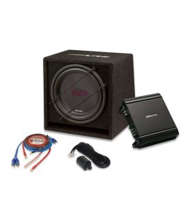"Alpine SBG-30KIT active subwoofer KIT  12"" (300 mm)."