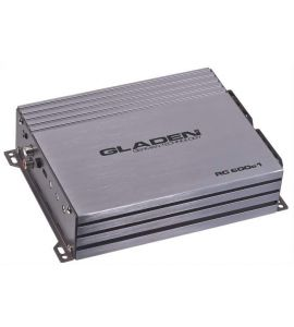 Gladen Audio RC 600c1 (D class) power amplifier (mono).