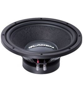 "Gladen ALPHA 10 subwoofer 10"" (250 mm)."