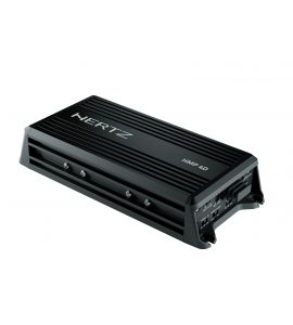 Hertz HMP 4D (D class) marine & powersports power amplifier (4-channel).