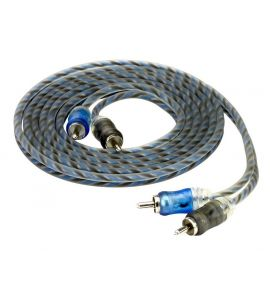 Stereo RCA cable for amplifier (0,3 m).
