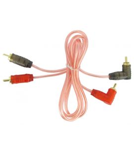 Connects2 RCA cable for amplifier (1.0 m).