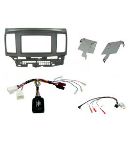 Mitsubishi Lancer (2008-2010) fascia plate kit (adapter 2DIN). Connects2