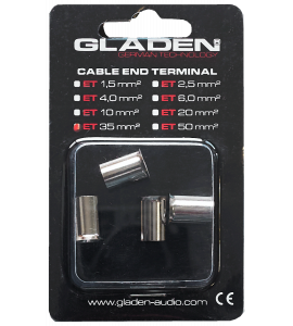 Gladen cable End-Terminal (35 mm2).