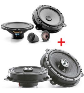 Focal IC RNS 165 + IS RNS 165 speakers kit for Nissan (->2021).