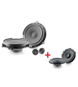 Focal IC Ford 165 + IS Ford 165 speakers kit for Ford (->2021).