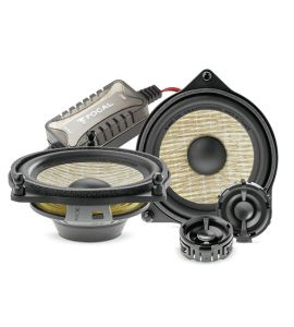 Focal IS MBZ 100 component speakers (100 mm) for Mercedes Benz.