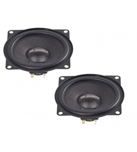 Gladen Audio GA-120 SLIM-4 midrange speaker (120 mm) for VW.