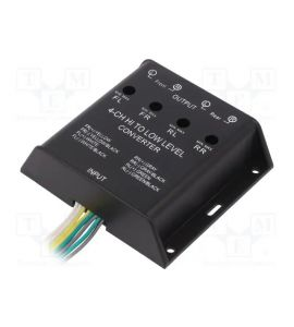 High level speaker signal to Low level RCA adapter (4-channel) 30.5000-04