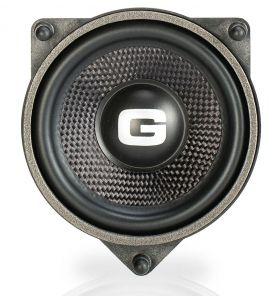 Gladen ONE 100 MB-C midrange speaker (100 mm) for Mercedes Benz (2014->).