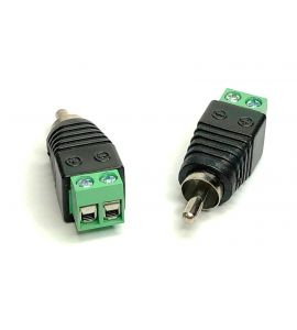 Gladen High Level RCA adapter (pair). mosHLRCA-M