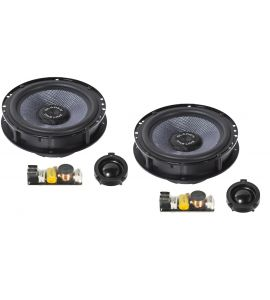 Gladen Audio ONE 165 GOLF 6 SQX component speakers (165 mm) for VW.
