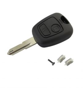 Peugeot 106, 206, 306, 406... remote KEY case with 2 switch (2 button).
