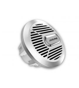 "Alpine SWR M100 (Silver Version) subwoofer 10"" (250 mm)."