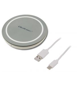 Smartphone wireless charging. Quick Charge. QOLTEC-51840