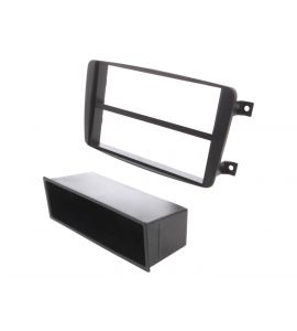 Mercedes fascia plate kit with shelf (adapter 2DIN). 40.290