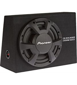 """Pioneer TS-WX306B boxed subwoofer 12"""" (300 mm)."""