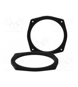 Hyundai Tucson (2004->) speaker adapter (165 mm). MDF.HYUNDAI01